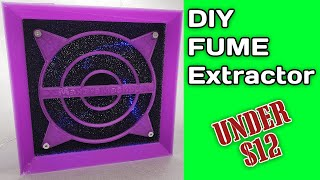 DIY Solder Fume Extractor Under $12! | Solder Station Exhaust Fan