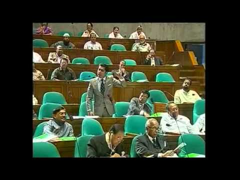 Barrister Andaleeve Rahman's 2nd Parliamentary Speech  March 19, 2012