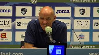 Après HAC - Grenoble (3-1), réaction de Paul Le Guen