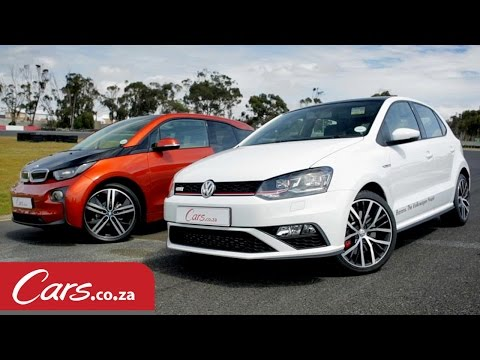 Drag Race: BMW i3 vs New Polo GTI - Electric vs Petrol