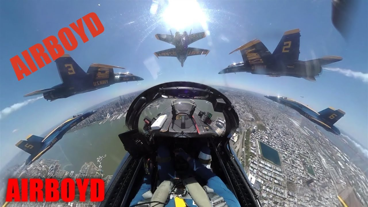 Blue Angels Flyover • Operation America Strong NY NJ PA