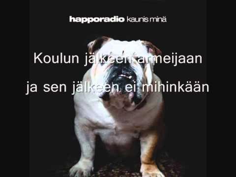 Happoradio - Kostaja (sanat)