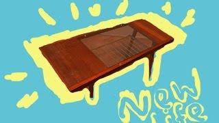 HOW TO: Как обновить старую мебель. Журнальный стол некст лайф(, 2014-06-21T18:21:10.000Z)