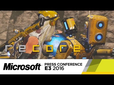 Recore Official Gameplay Trailer E3 2016 YouTube
