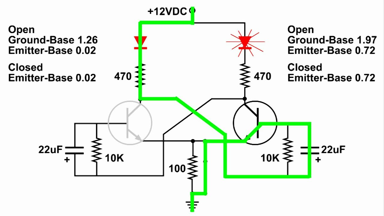flip flop circuit build and demo youtube rh youtube com edge triggered d flip flop circuit diagram d flip flop circuit diagram and truth table