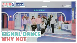 [IDOLHOUSE LOONA] Special Clip Why Not Signal Dance I 아이돌집 I 이달의 소녀