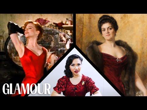 Fashion Expert Fact Checks Moulin Rouge''s Wardrobe | Glamour