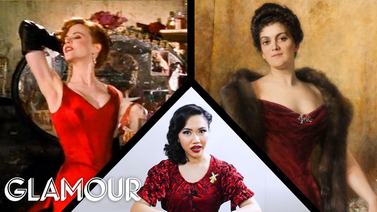 Fashion Expert Fact Checks Moulin Rouge's Wardrobe | Glamour