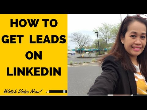 How to Generate Leads on LinkedIn | Marketing Strategy Tips Using LinkedIn for Business