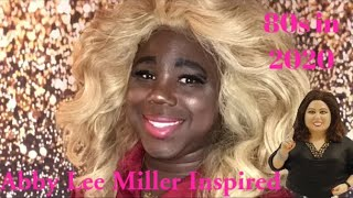 Abby Lee Miller Inspired Roller-Set 80s Hairstyle | Time-lapsed Tutorial | Christian Stylez Inc