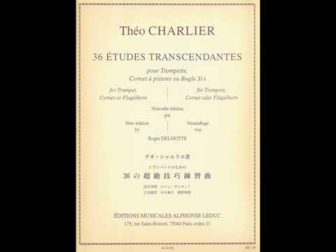 Theo Charlier Etude 2 Du Style