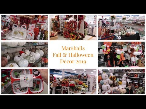 Marshalls Fall & Halloween Décor 2019