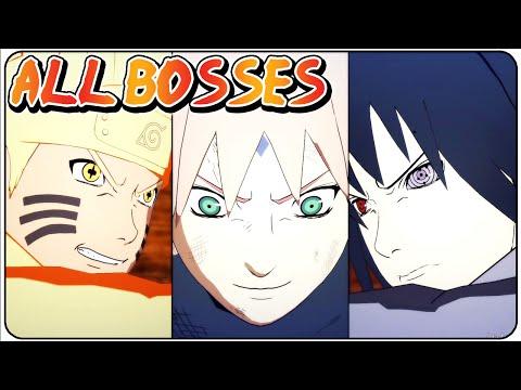 Naruto Shippuden Ultimate Ninja Storm 4 All Bosses