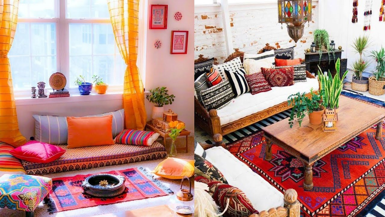 Low Budget Indian Style Living Room Interior Design - indian