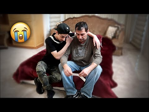 My Dad Never Has To Work Again.. *super emotional* | FaZe Rug