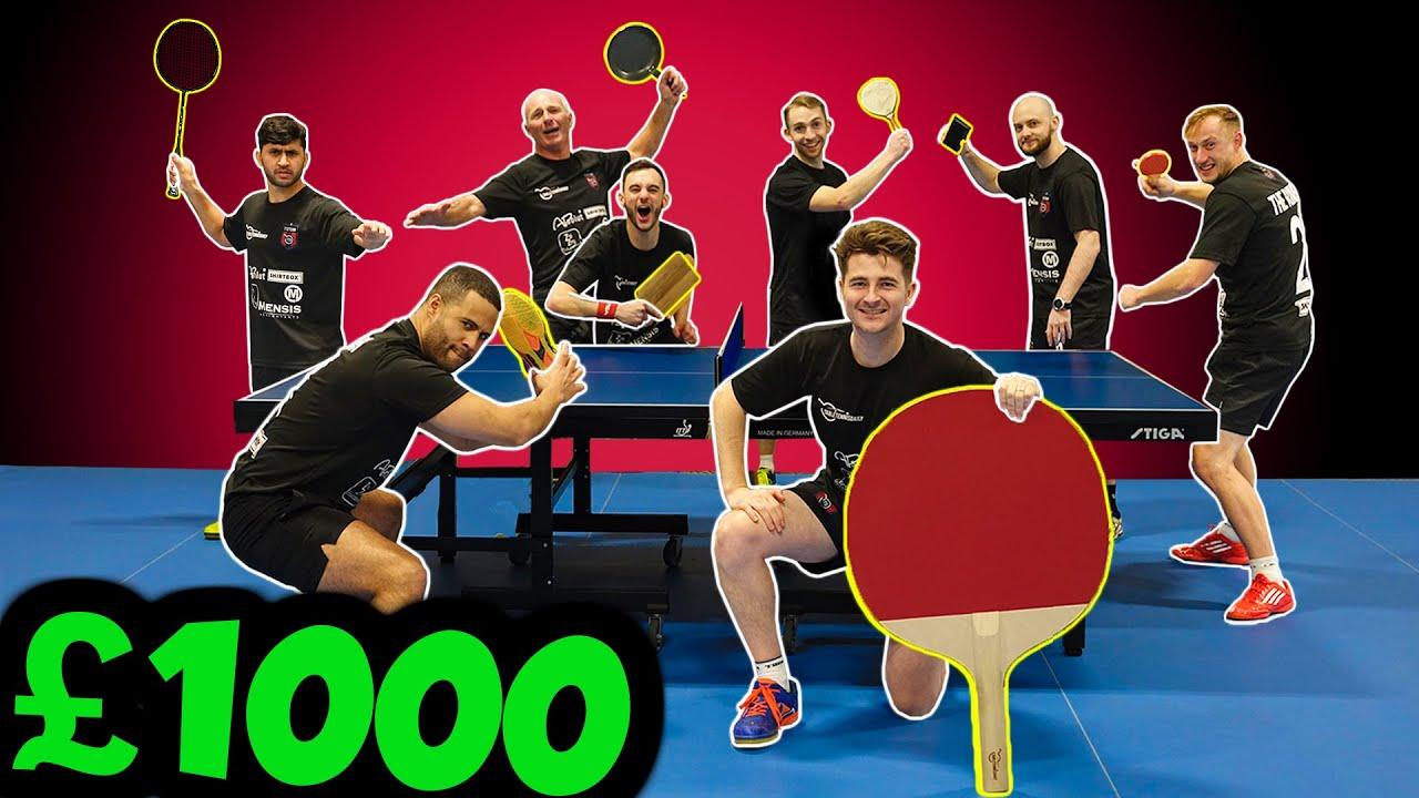 Download WORLD'S CRAZIEST TABLE TENNIS TOURNAMENT | WIN GET £1000!!!