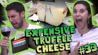 Most Expensive Cheese We've Ever Had! (Moliterno al Tartufo) - #33