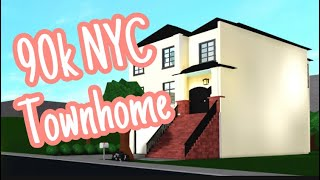 90k NYC Townhome - France BLOxbourg ROBLOX