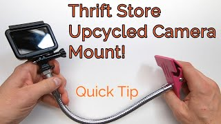 A Thrift Store Upcycled Camera Mount