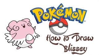 How To Draw Blissey (POKEMON)