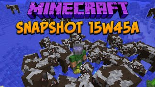 Minecraft 1.9 Snapshot 15w45a Mobs Can Move In Water Again!
