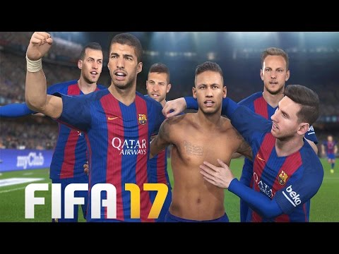 BARCELONA ON FIFA 17!! - MESSI, NEYMAR, SUAREZ - NOU CAMP REMOVED! - PLAYER RATINGS PREDICTIONS!