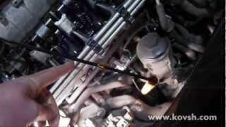 видео Замена поддона VW  Passat B5 , Audi