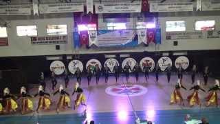 24 Kasım Anadolu Lisesi Halk Oyunları Ekibi 2015 Arhavi