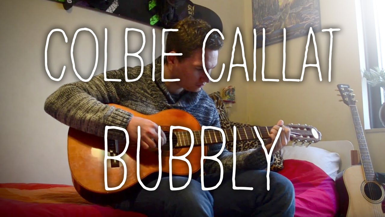 Bubbly Colbie Caillat Fingerstyle Guitar Free Tab Youtube