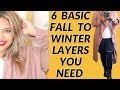 Plus Size Fashion: 6 Basic Fall to Winter Layers You Need