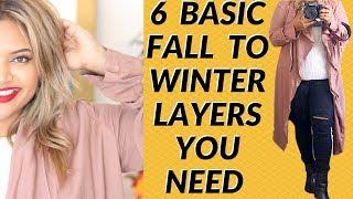 Plus Size Fashion: 6 Basic Fall to Winter Layers You Need