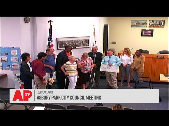 Asbury Park City Council Meeting - July 25, 2018