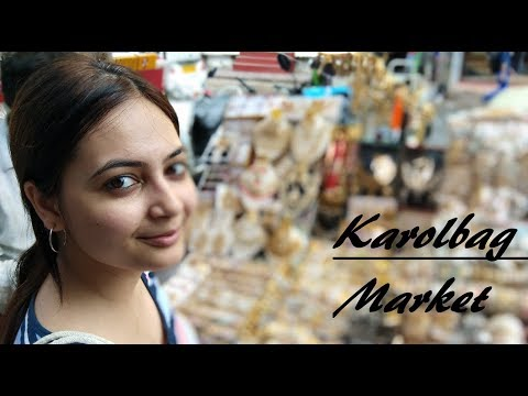 #Karol Bagh Market - Cheapest Jewellery, Clothes, Footwear And Purses - Episode 1