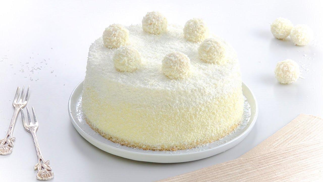 Recipe for Raffaello Cake