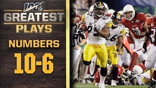 100 Greatest Plays: Numbers 10-6 | NFL 100