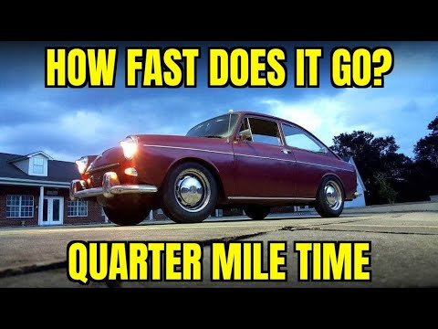 Dragy Review - 1968 VW Fastback Quarter Mile Time