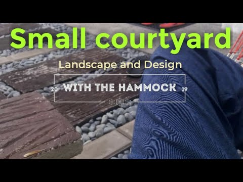 DIY Project: Small Garden Landscape and design (small backyard).