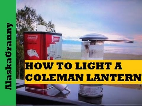 How To Light A Coleman Lantern- Camping Hunting Must Have Items