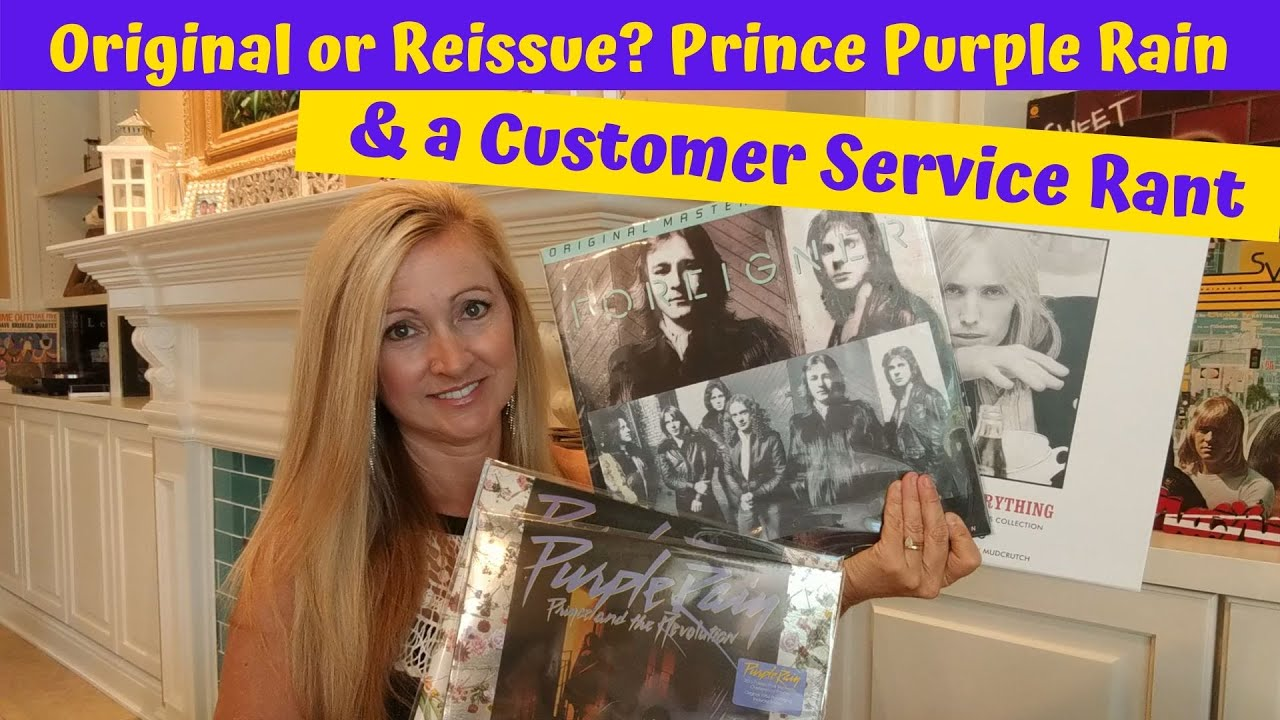 Original Or Reissue? Prince - Purple Rain & Customer Service Rant!!!