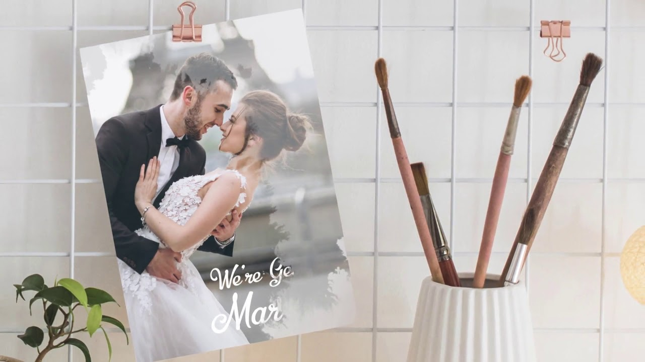 Videohive Wedding Invitation Template 4 - YouTube