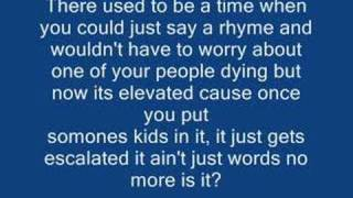 Eminem Like toy soldiers lyrics