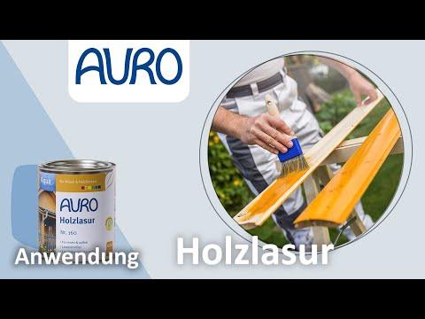 AURO Anwendungsvideo Aqua-Lasur