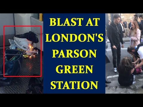 London : Blast in underground tube at Parsons Green station | Oneindia News