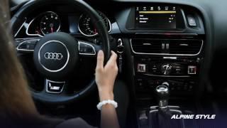 Информационно-развлекательная система Alpine Style для Audi Q5, Audi A4, Audi A5