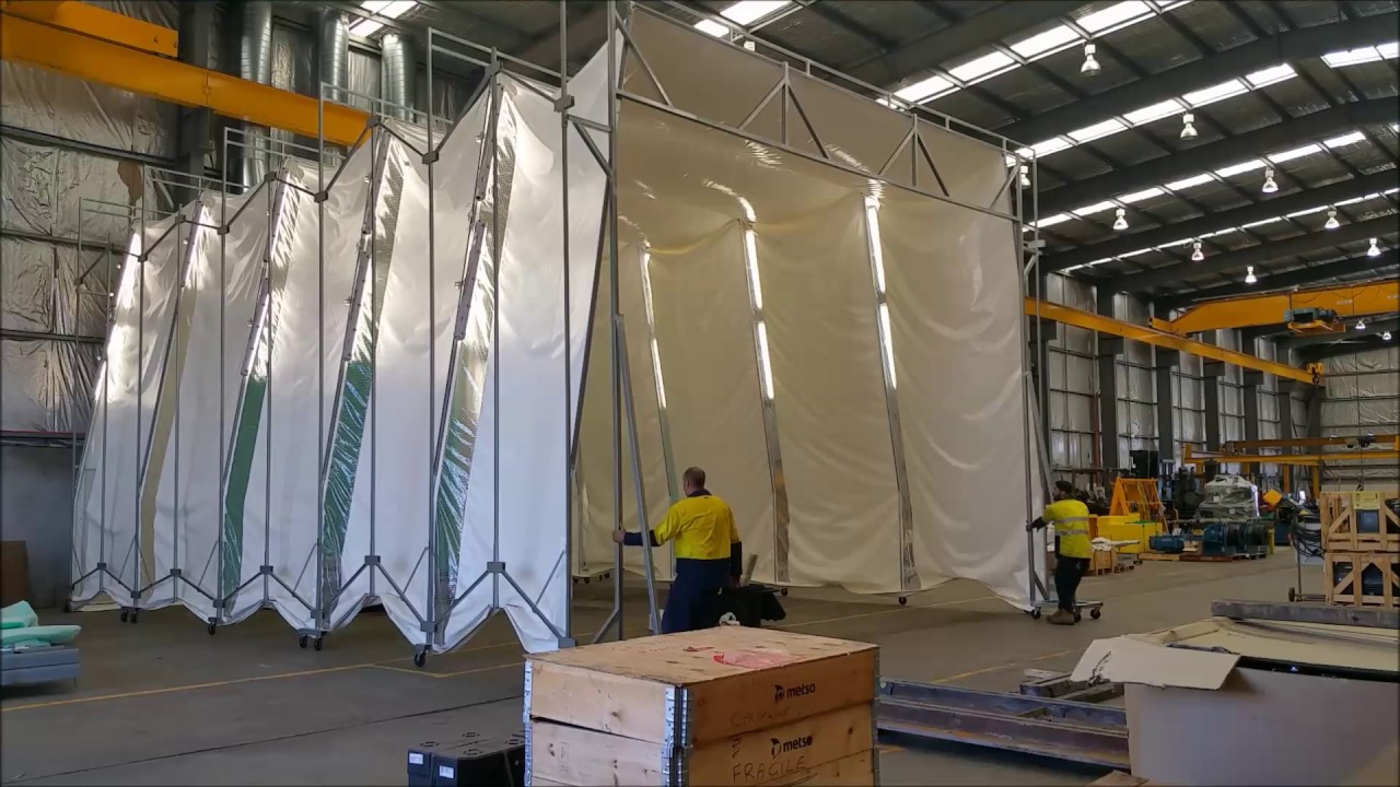 Extending The Latest Amazing Retractable Spray Booth Youtube