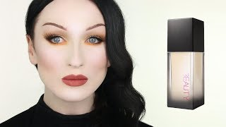 THE PALEST SHADE - HUDA BEAUTY Faux Filter Foundation Review