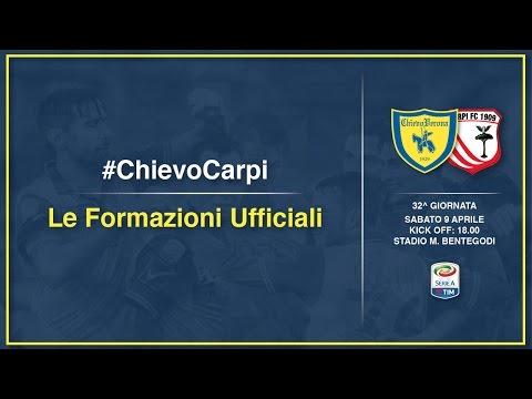 #ChievoCarpi: le formazioni ufficiali
