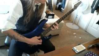 Chlorine & Wine by Baroness guitar cover