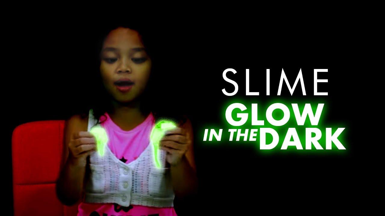 Cara Buat Slime Glow In The Dark   DIY Glow In The Dark ...