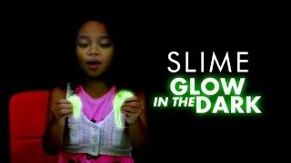 Cara Buat Slime Glow In The Dark   DIY Glow In The Dark Slime